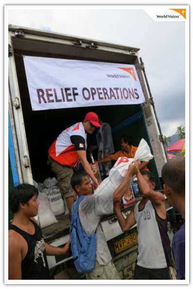 A Call for Help for Typhoon Pablo victims