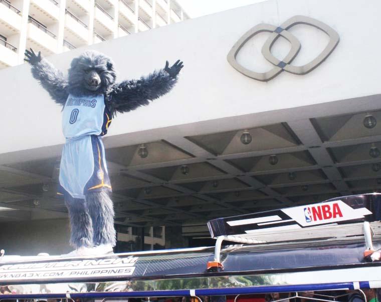 NBA Stars invade Manila