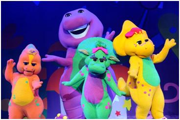 Barney Invites You To Celebrate His Birthday