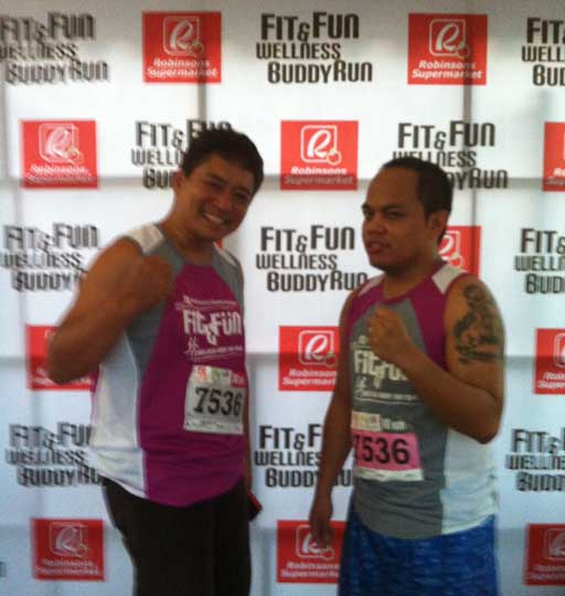 Keeping healthy is twice the fun at the Fit and Fun Wellness Buddy Run