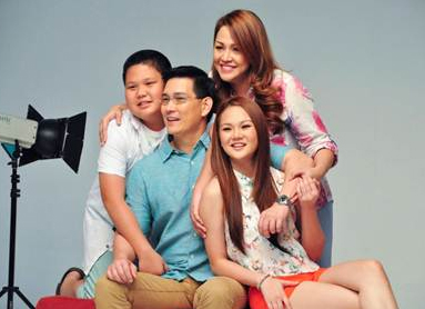 Richard Yap and family