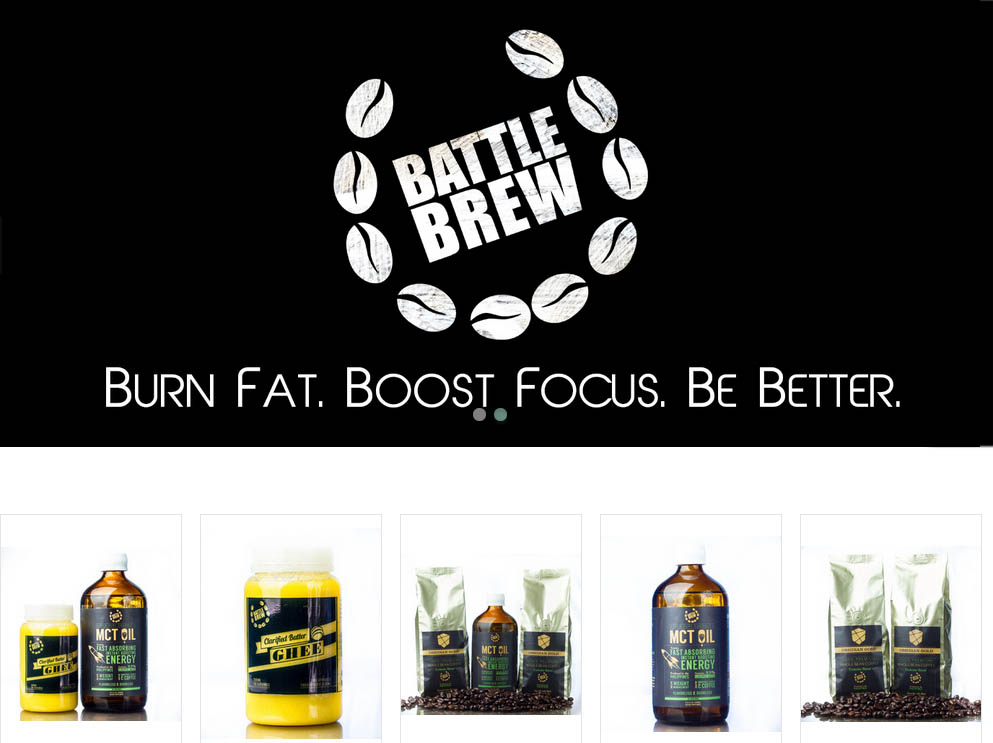 Battle Brew website