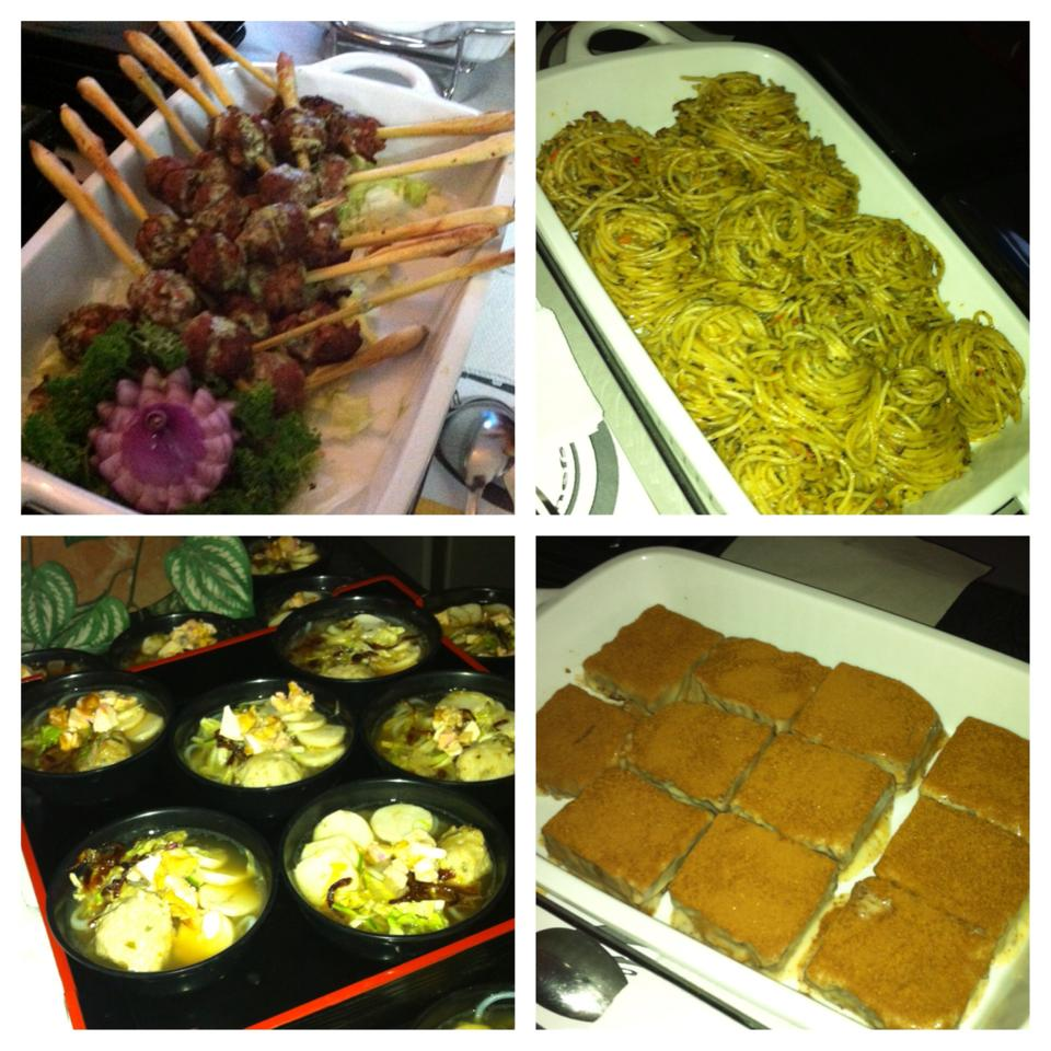 Just some of the many food delights served by Comida Chefs during their bloggers event held last March 14.