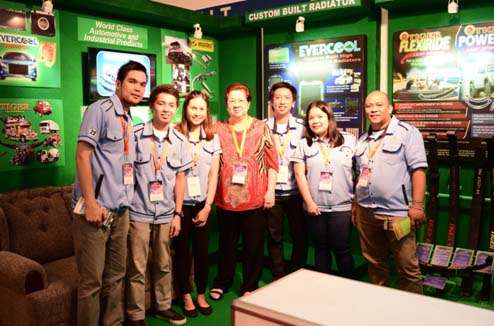 In the photo above (L-R): Mr.  Joel Soleta - Leafspring Manager; Mr. Gerard Panganiban - Marketing Staff; Ms. Kristine Capuyan - Marketing Supervisor; Mrs.  Natividad Cheng - Owner of Roberts Automotive and Uratex Phils.; Mr. Mike Gonzalez - General Manager Roberts Automotive; Ms. Cris Del Rosario - Sales Assistant; Mr. Joel Bait - Muffler Supervisor
