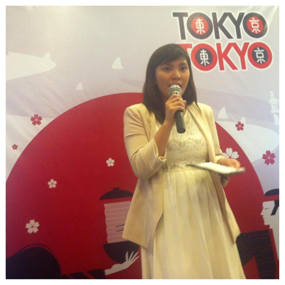 Ms. Carissa Ferice L. Loresca, Marketing Officer of Tokyo Tokyo