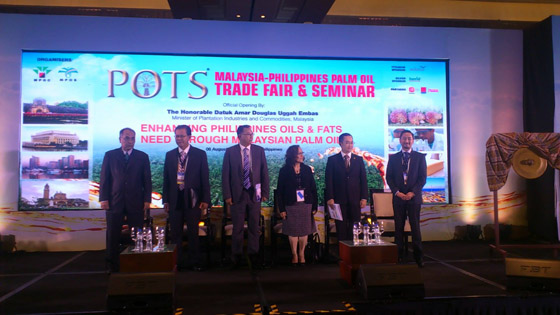 Government officials and representative of the business sectors from the Philippines and Malaysia during the opening ceremonies of POTS 2015 at Makati Shangri-La Hotel last August 6, 2015.