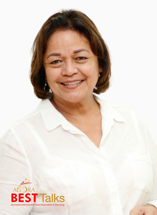 Advertising legend Emily Abrera, Chairman Emeritus of McCann Erickson Philippines.