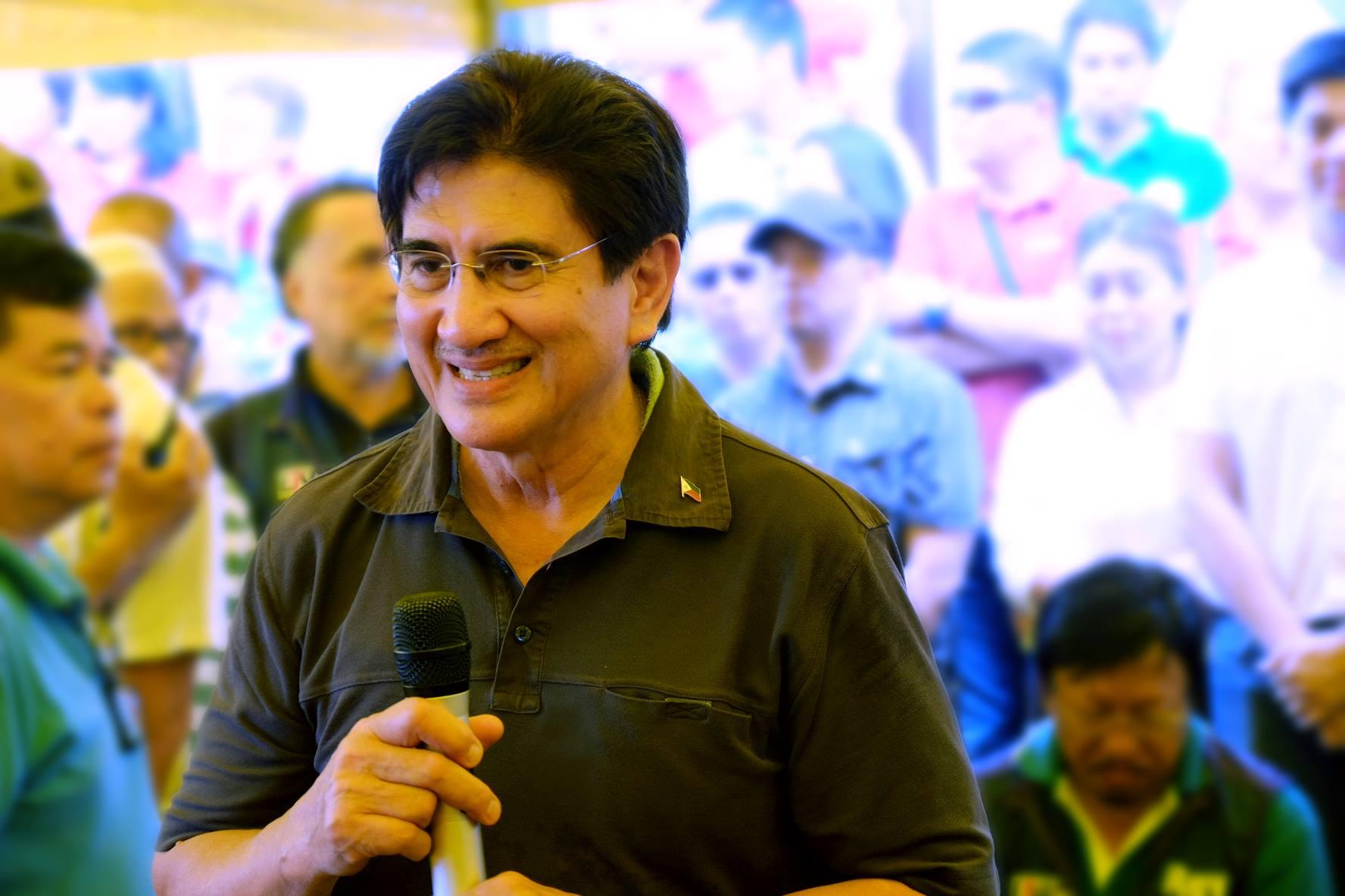 Senator Gringo Honasan (Ryan San Juan - Team Gringo)