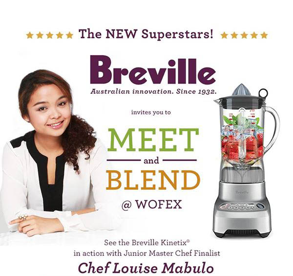 Breville to wow guests at World Food Expo (WOFEX) 2016