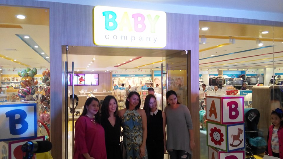 Aside from Iya Villania-Arellano, models Patty Laurel-Fillart and Nicole Delos Angeles and actress Tanya Garcia-Lapid also graced the Baby Company store opening.