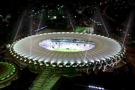 One of Brazil's stadiums. Image credit from bleacherreport.com.