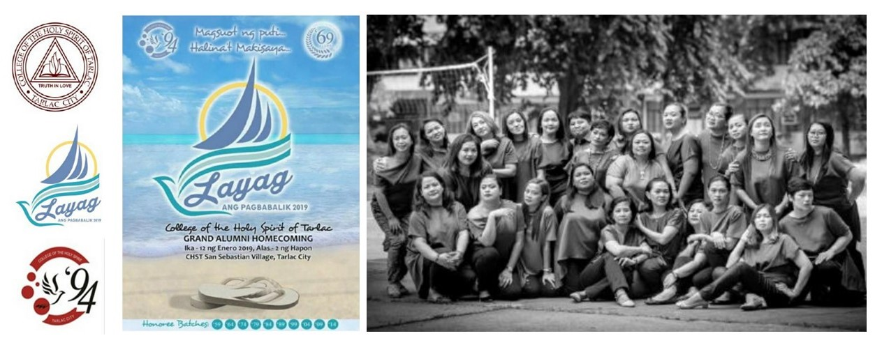 White Grand Alumni Homecoming 2019 to bring the best in College of the Holy Spirit of Tarlac