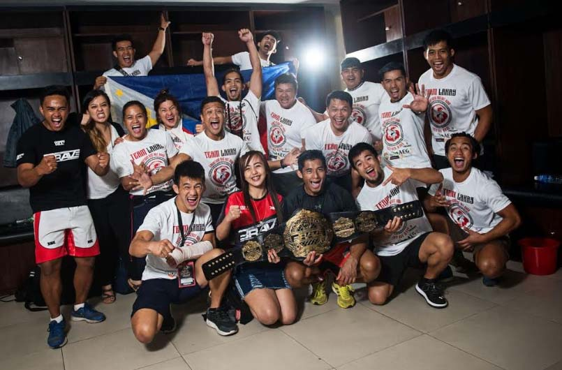 Filipino MMA fighters victorious at Brave 22