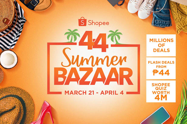 Score Millions of Deals and a Sponsored Trip to El Nido  at Shopee 4.4 Summer Bazaar