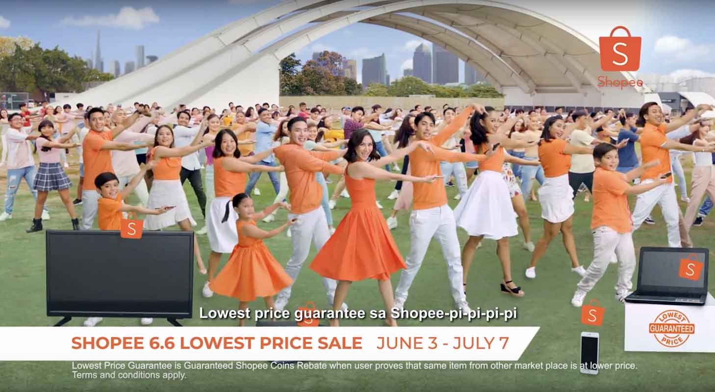 Shopee debuts TV ad with Sarah Geronimo for Shopee 6.6 – 7.7 Sale