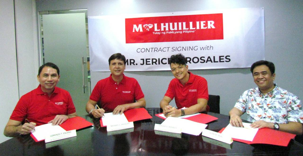 Jericho Rosales renews contract as M. Lhuillier brand ambassador