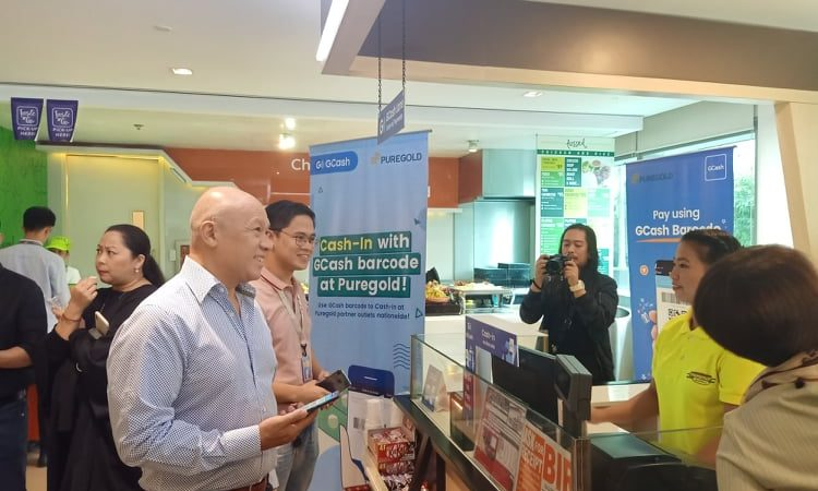Convenience through GCash barcode cash-in at Puregold