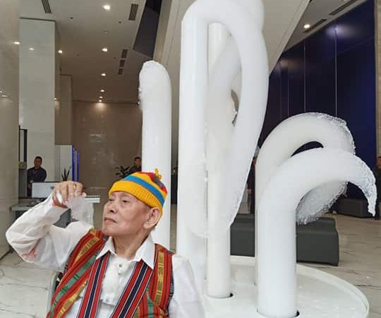 David Medalla's Cloud Canyon No. 31 now permanently installed at BDO Corporate Center Ortigas