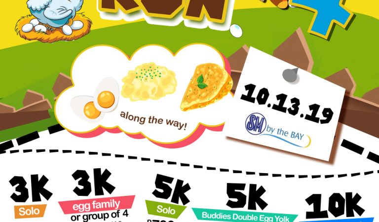 Join Eatlog Run 2019 and support local egg producers and egg consumption