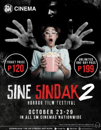 SM Cinema's Sine Sindak Horror Film Festival is back to give moviegoers full-on fright fix