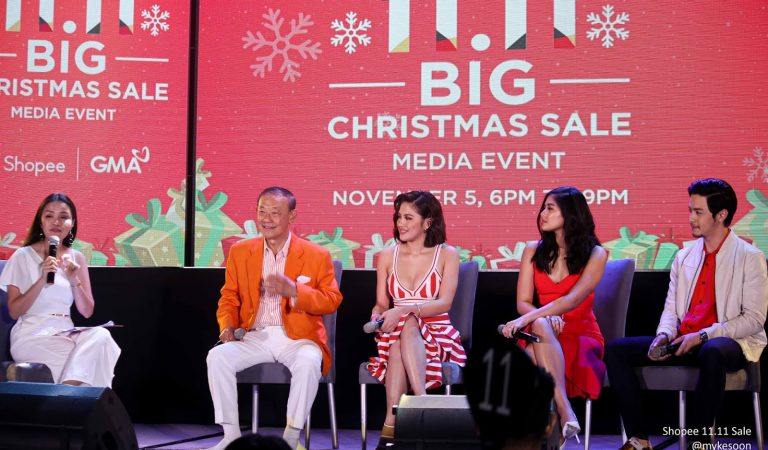 Shopee to level up 11.11 Sale with a grand Christmas TV Special