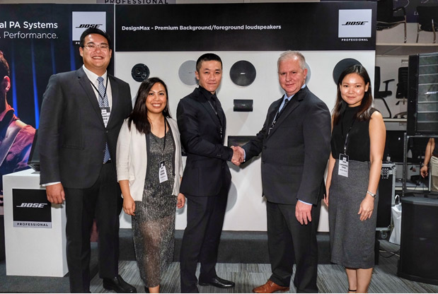 Bose Professional announces Versatech International Inc as Official Distributor in PH
