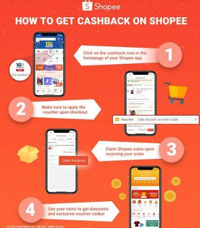 Shopee's Cashback: Enjoy Extra Savings While Shopping this New Year