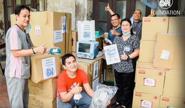 COVID-19 Update: SM Foundation turns over ICU ventilators to Philippine General Hospital