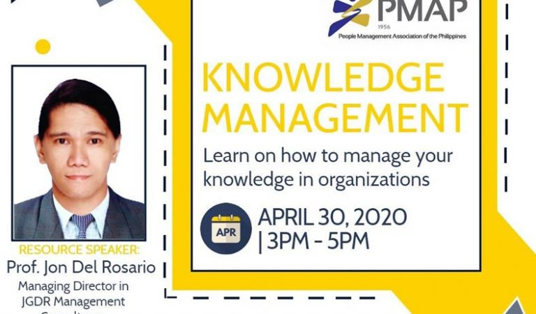 Free Webinar on Knowledge Management
