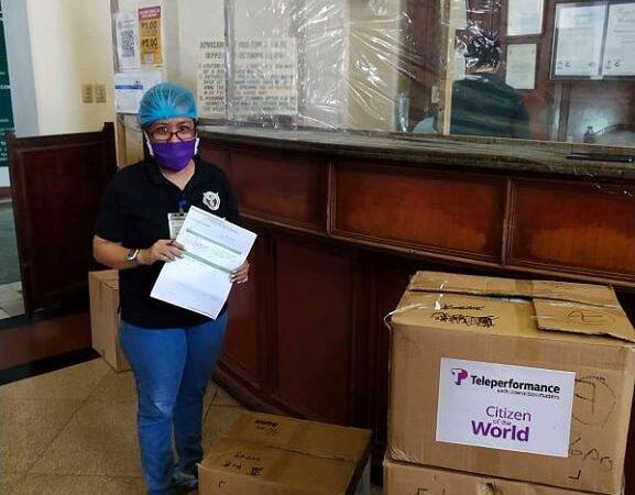Teleperformance's COTW volunteers practice Bayanihan in face of COVID-19