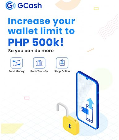 How to Increase your GCash Wallet Limit