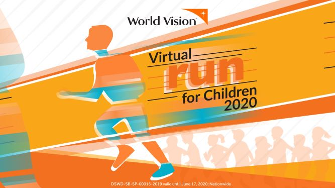 Registration Extended: World Vision 1st Virtual Run for Children