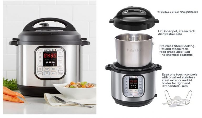 Instant Pot Duo 60 7-IN-1 Multi-Use Programmable Pressure Cooker is now available in the Philippine via Shopee