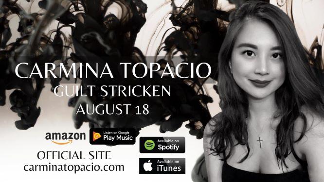 Carmina Topacio releases latest single, Guilt Stricken