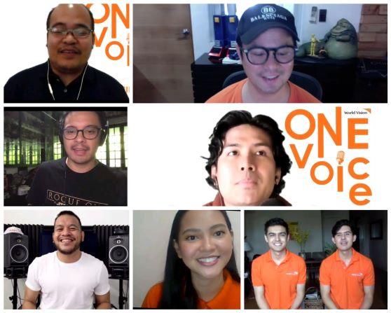 "World Vision Unite Celeb Ambassadors and Advocates for Virtual Concert ""One Voice for Children"""