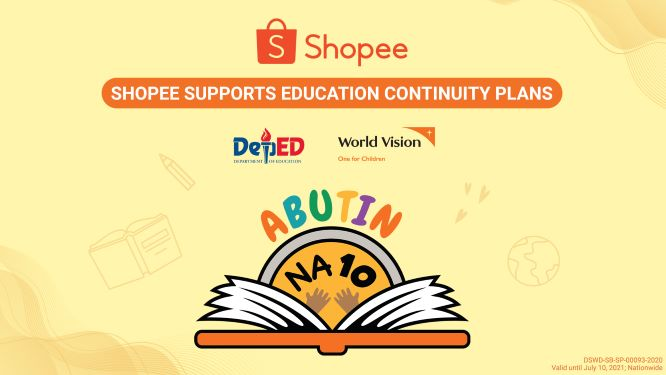 Shopee Partners with World Vision and DepEd to Help Filipino Students Continue Distance Learning