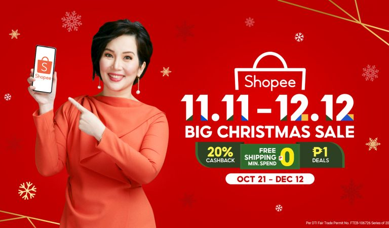 Kris Aquino is Shopee's New Brand Ambassador for the 11.11 – 12.12 Big Christmas Sale
