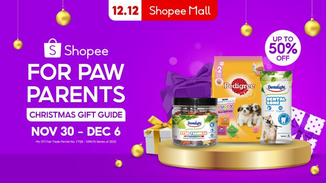 Recommended Gifts To Give Paw Parents this Christmas