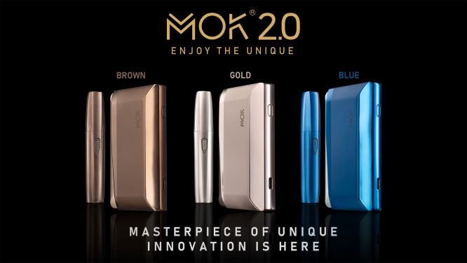 MOK launches latest heat-not-burn flagship device MOK 2.0