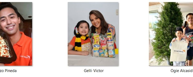 Celebrities call for support to World Vision's Noche Buena initiative