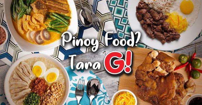 GoodAh!!!  satisfies cravings for Pinoy Food