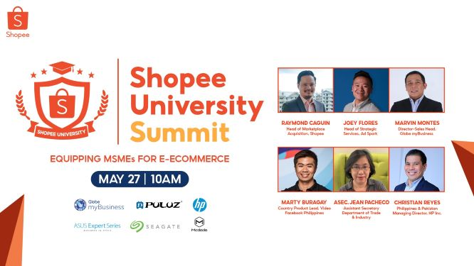 Entrepreneurs invited to the 1st Shopee University Summit on E-Commerce