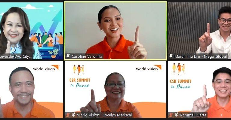 World Vision's 3rd virtual CSR Summit highlights Davao initiatives