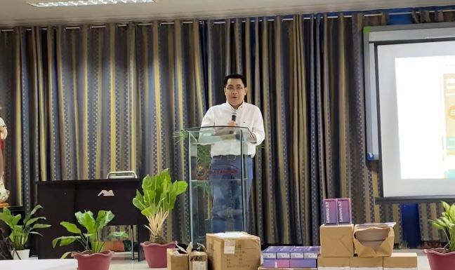 Batangas students received learning materials through via World Vision's Abutin Na10