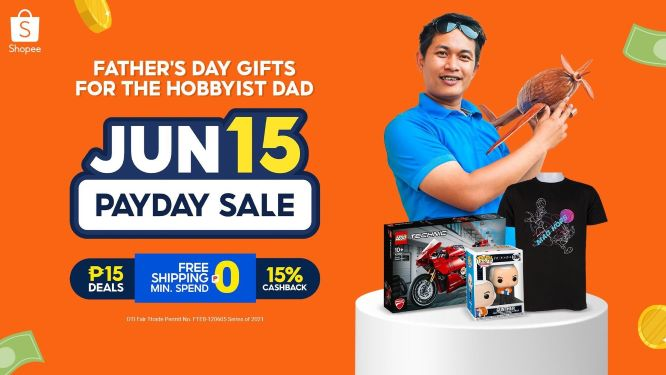 Gift Suggestions for Your Hobbyist Dad at Shopee's Payday Sale