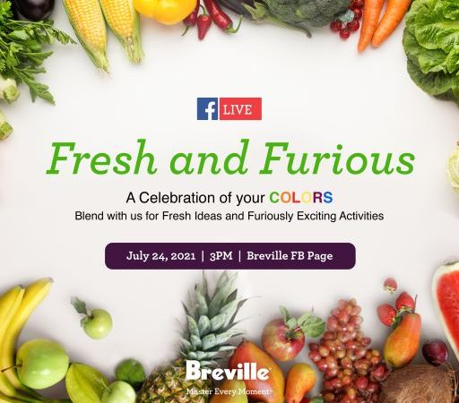 Paint Your Kitchen Adventures with Colorful Inspiration and Blend it like Breville