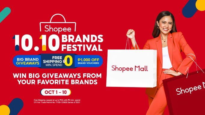 Shopee's 10.10 Brands Festival: Win Big Giveaways from Your Favorite Brands