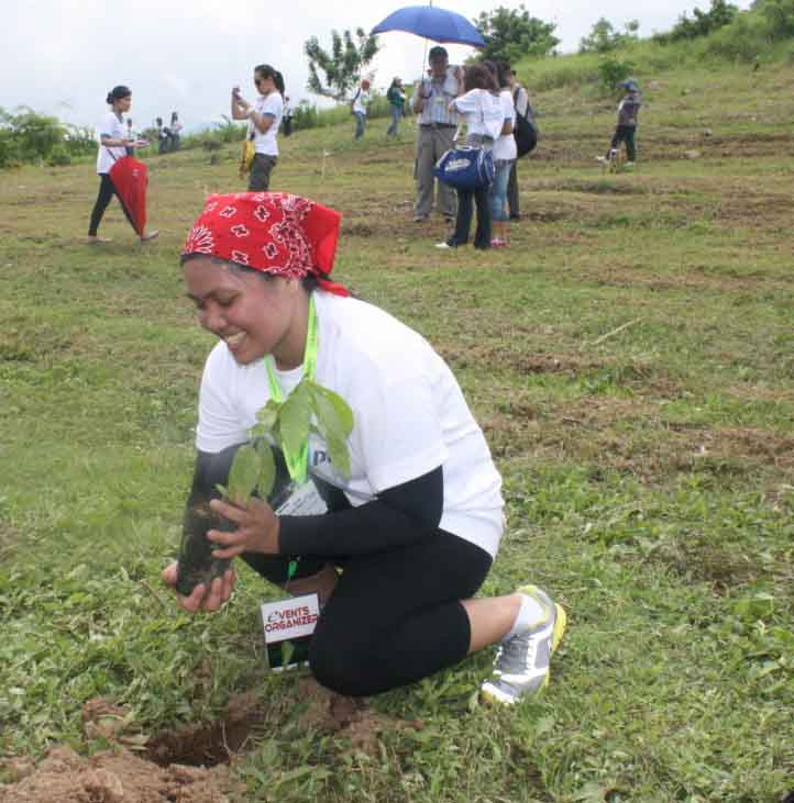 PTT revives denuded forest in Bataan