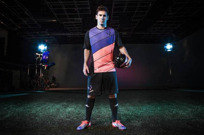 Messi's New Boots Set to Light up the Pitch