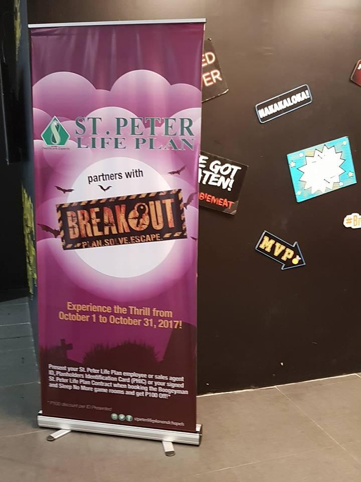 St. Peter Life Plan × Breakout Philippines: Thrill Seeker Challenge